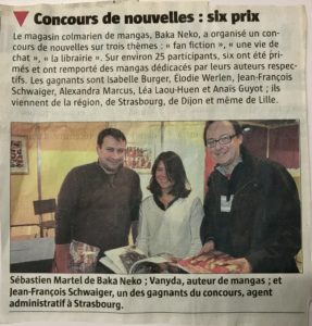 concours Baka Neko - Jean-François Schwaiger